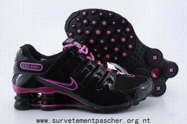 factory authentic cheaper utterly stylish basket nike shox rivalry noir et rose,shox r3 femme noire,shox nz ...