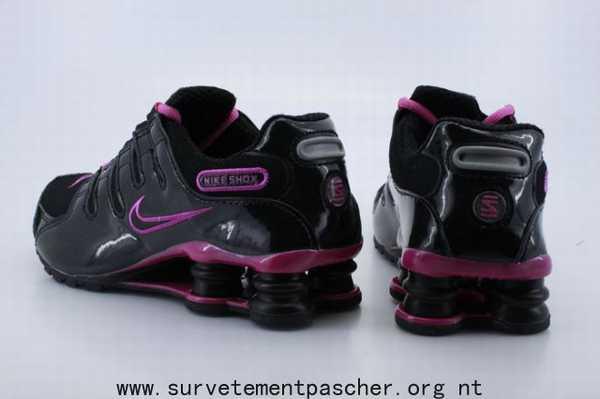 low priced f4993 878ea basket nike shox rivalry noir et rose,shox r3 femme noire,shox nz femme